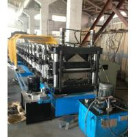Wholesale 10-12m/min 7.5Kw Double Layer Ridge Cap Roll Forming Machine 16 Station Upper And Down from china suppliers
