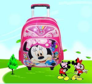 Wholesale Mickey trolley school backpack kids school trolley backpack--cute trolley bag from china suppliers