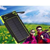 Wholesale New 8000mAh waterproof solar charger with factory competitive price from china suppliers