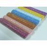Buy cheap Chunky Glitter Fabric Mini Roll  Grade 3 Chunky Glitter Vinyl Fabric Roll For Wallpaper,Table Runner,Hair Bow DIY from wholesalers