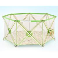 Wholesale Mesh Folding Baby Playpen Fence / Infant Play Yard Double Lock from china suppliers