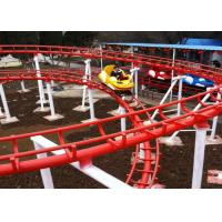 8KW Thrilling Crazy Mouse Ride CE Certification 1 Year Warranty For Family