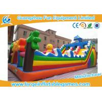 Wholesale Sea World Large Inflatable Games , Inflatable Indoor Playground Equipment For Kids from china suppliers