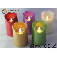 Wholesale Double Light Moving Flame Led Candles For Home Decoration 15.5 / 17.8cm from china suppliers