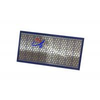 Wholesale 1250x715mm Customize Steel Frame Swaco Mumut Shaker Screen Gas & Oil Filtration from china suppliers