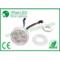 Quality 24V 6led Smd5050 45mm RGB lED PIXEL 19mm Hole Size Smd5050 Module Light for sale
