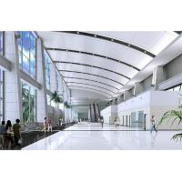Wholesale Sound Absorption Curved Fiberglass Ceiling Panels from china suppliers