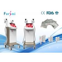 Wholesale Fat freeze cryolipolysis treatment machine for sale 2 cryo handles working together 1800W power 15 inch touch screen from china suppliers