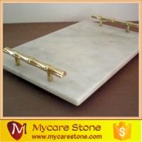 Wholesale customized design marble serving tray for sale from china suppliers
