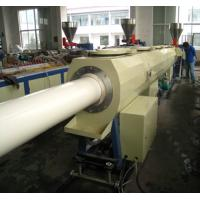 Quality Automatically SJZ series water pipe extrusion line extruded pipe 160-250mm pvc pipe extrusion line for sale