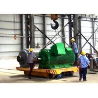 Wholesale Low voltage electric rail transfer carriage for large steel structure from china suppliers