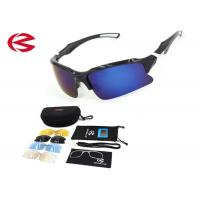 Wholesale Full Set Interchangeable Lens Sunglasses Outdoor Sport Goggles With OEM from china suppliers