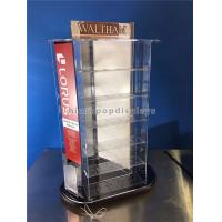 Wholesale Tabletop Rotating Acrylic Display Case , 3-Way Pocket Watch Display Case from china suppliers