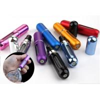 Wholesale 5ml aluminum colorful perfume atomizer Refillable Bottles woth sprayer from china suppliers