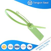 Wholesale TX-PS502 Hot sales high tensile strength plastic seal tie lock with logo mark in lable from china suppliers