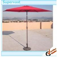 Wholesale Patio Outdoor Furniture 9ft Garden Market Replacement Parasol with Aluminum / Polyester from china suppliers