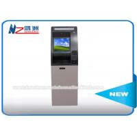 Wholesale Bill Acceptor Self Payment ATM Kiosk Terminal Machine For Home / Bank / Railway Station from china suppliers