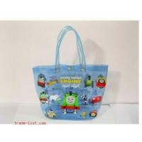 Wholesale Cartoon pringting transparent PVC  shopping bags EN71 or reach5 , 6p from china suppliers