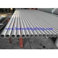 Wholesale Round Thin Wall Stainless Steel Welded Pipe DIN ,PA, AND PE, SCH5S, 10S, 20, 40S from china suppliers