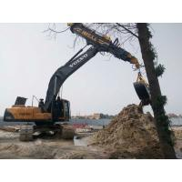 Wholesale Low Noise Excavator Rotating Clamshell Grapple Bucket For Telescopic Boom Arm from china suppliers