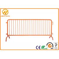 Wholesale Heavy Duty Galvanized Steel pedestrian barricades with interlock system from china suppliers