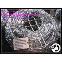 Wholesale 10x12 Galvnaized Barbed Iron Wire Barbed Wire from china suppliers