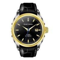 Wholesale Black Classic Men Watches Vogue Multifunction With Leather Strap from china suppliers