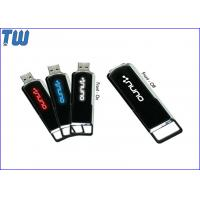 Wholesale Personalized Sliding LED Light LOGO Shinning 64GB USB Drives Stick from china suppliers