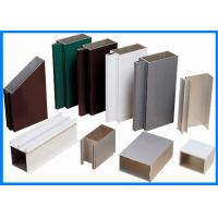Wholesale Powder Coating Curtain Walls Extruded Aluminium Profiles from china suppliers