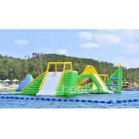 Wholesale Giant Inflatable Aqua Park Sports Equipment / Inflatable Water Park Games For Sea from china suppliers