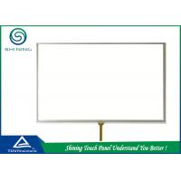Quality LCD Module 4 Wire Resistive Touch Panel Capacitive With Double Layers for sale