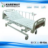 Quality Three Positions Hospital Patient Bed , Remote Control Electric Care Bed CE FDA Certificates for sale