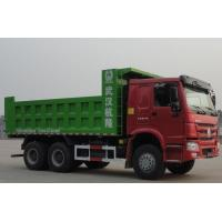 Wholesale HOWO 6x4 Mining Dump / Tipper Truck 30tons with Q345 steel and negative grounded from china suppliers