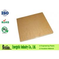 Wholesale Nature PPS Sheet , Glass Fiber Filled PPS Board for Bearings from china suppliers