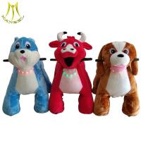 Wholesale Hansel battery operated ride on animals plush animal horse electric scooter from china suppliers