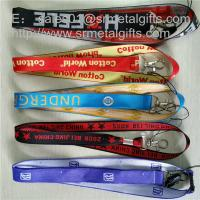 Wholesale 1 inch woven jacquard id badge ribbons wholesale, custom polyester woven lanyards, from china suppliers