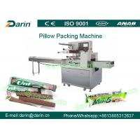 Wholesale Full automatic chewing gum toffee hard candy lollipop pillow pack machine from china suppliers