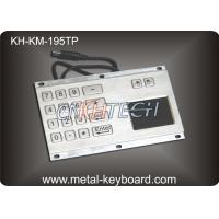 Wholesale IP65 Rate Kiosk Numeric Panel Mount Keyboard  , Rugged Keyboard Metal from china suppliers