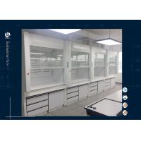 Wholesale Cleanroom Safety Benchtop Fume Hood Solvent Cupboard For General Research from china suppliers