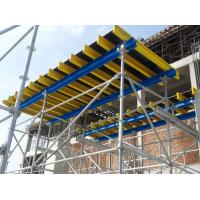 Wholesale Ring Lock Scaffold Formwork Platform System With Screw Jack Head , Ledger , Diagonal Brace from china suppliers