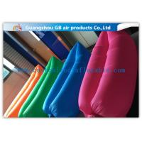 Wholesale Colorful Lazy Inflatable Sleeping Bag Air Sofa / Laybag For Outdoor Camping from china suppliers