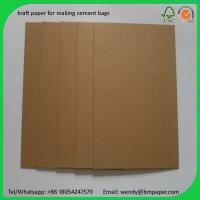 China BMPAPER High Quality Test Liner Fluting Paper For Making Craft Paper Box  for cement bags on sale