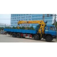 Buy cheap 16ton dongfeng 8x4 crane truck from wholesalers