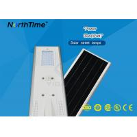 Wholesale Energy Saving 30W Solar Street Light All In One Aluminum Alloy Housing from china suppliers