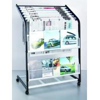 Wholesale Bathroom Iron Metal Rack Display For Magazine / Literature / Newspaper DX-K129 from china suppliers