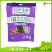 Wholesale Popular Healthy Food kale packaging Plastic Bags / Stand Up Ziplock Bags With Clear Window from china suppliers