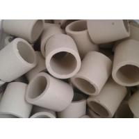 Wholesale Simple Shape Ceramic Tower Packing / Ceramic Raschig Rings High Mechanical Stability from china suppliers