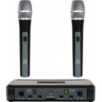 Wholesale 10W AC220V ~50Hz Handheld Dual UHF Wireless Microphone System from china suppliers