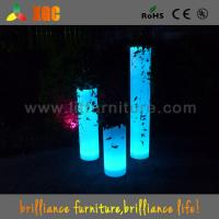 Wholesale 30 × 30 × 70 cm Colors Changing Waterproof PE Material LED Flower Pots,Decor Flower Pots Nightclub&Disco from china suppliers