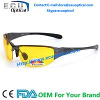 Wholesale 2014 new arrival yellow lens driving night polarized sunglasses for day night and dim weather from china suppliers